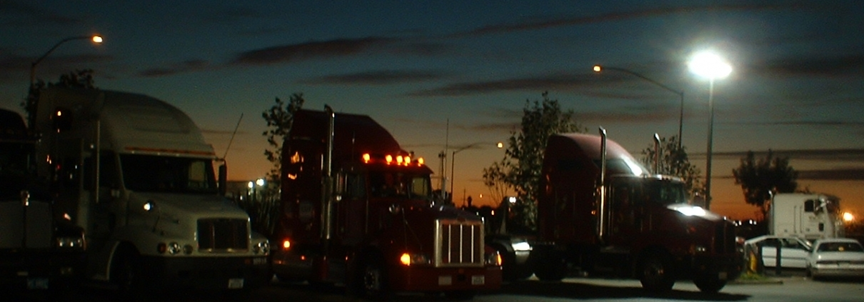 truck stop safety tips
