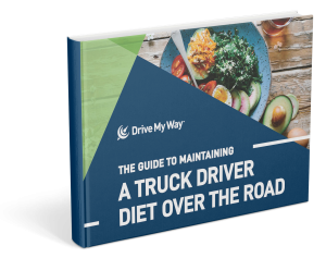 maintaining a truck driver diet over the road