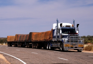 oversized flatbed load