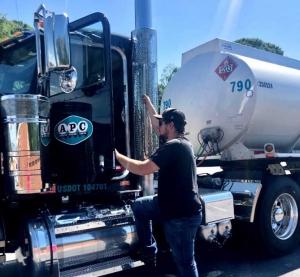 Dennis Bradley Trucking driver