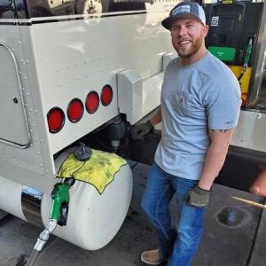 Adam Graham Conestoga Flatbed Truck Driver