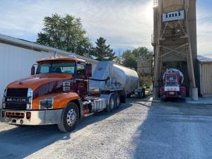 eno inc dry bulk tanker truck