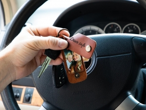 trucker key chain