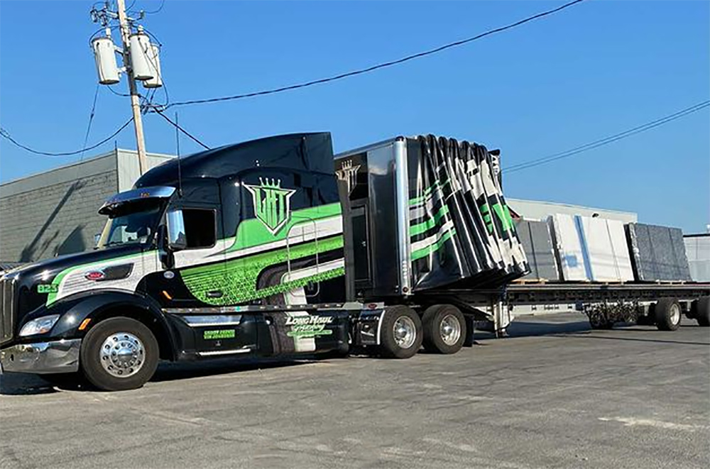 Everything to Know About Conestoga Flatbed Trucking Jobs