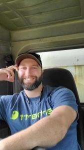 Dump truck driver Travis