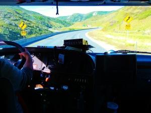 semi truck dashboard